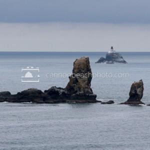 Arch Rock and Tillamook Lighthouse