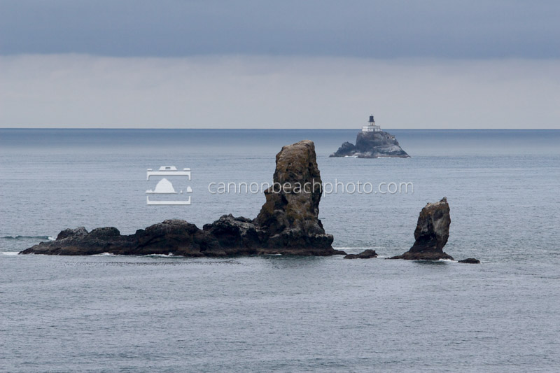 Arch Rock and Tillamook Lighthouse