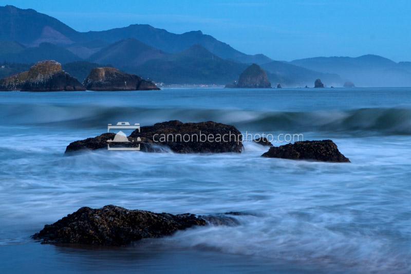 Calm Blue Evening