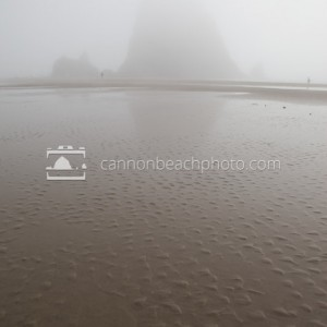 Fog at Haystack with Sand