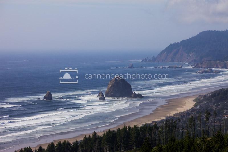 Haystack Rock and the Coast