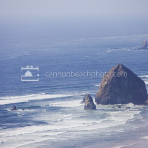 Haystack Rock from Afar