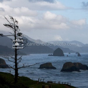 Moody View from Ecola Point