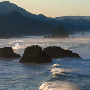 Morning Light on Cannon Beach