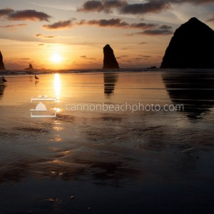 Quintessential Cannon Beach Sunset