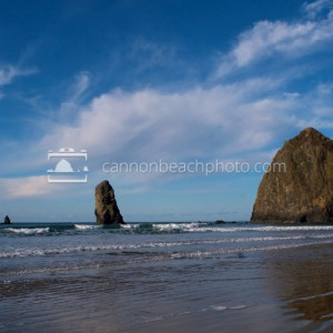 Simple Sunny Day at Haystack Rock