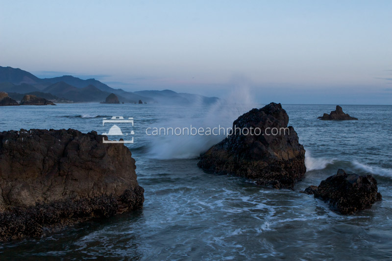 South to Cannon Beach Evening