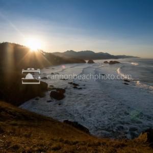 Sunrise Over Cannon Beach