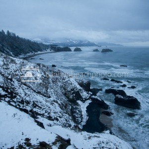 Winter Wonderland in Cannon Beach