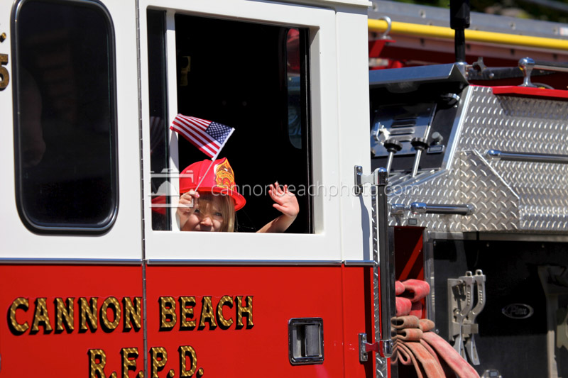 4th of July Parade Firetruck