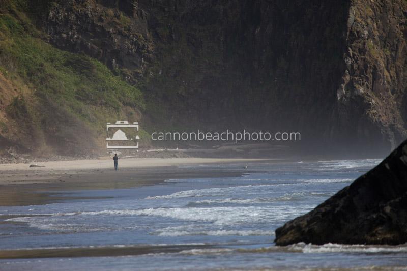 Beach Walker at Crescent Beach