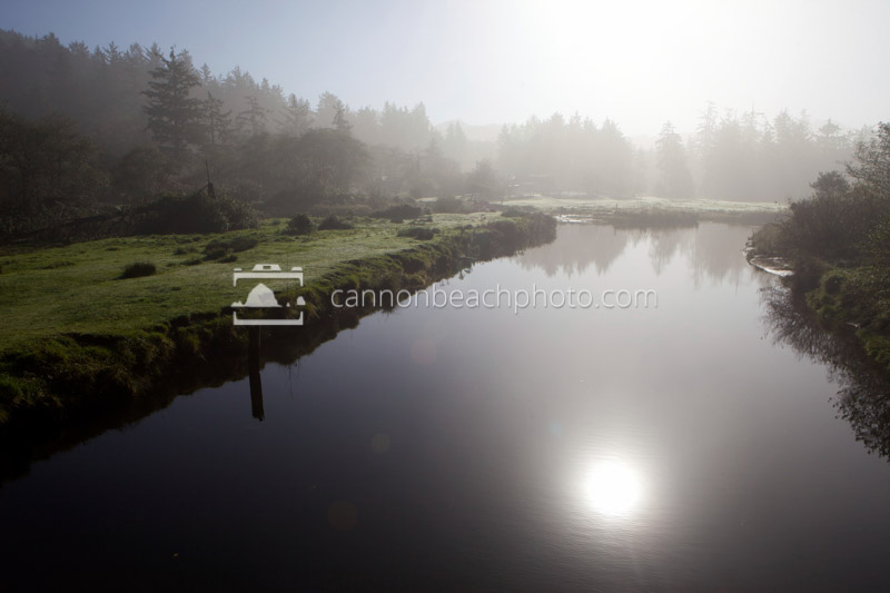 Ecola Creek on a Peaceful Morning