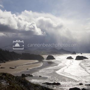 Ecola Point Winter View Horizontal
