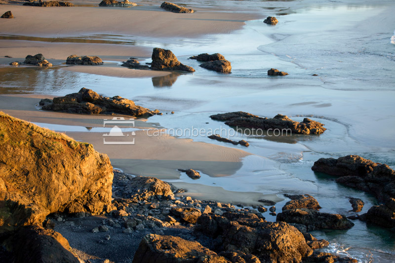 Golden Rocks on Land's Edge