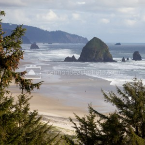 Haystack Rock and the South Coast
