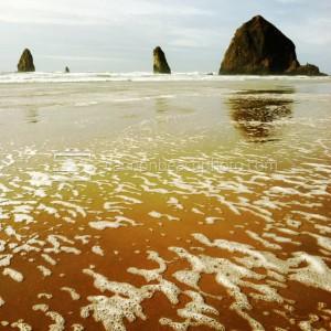 Orange Sands, Haystack Rock