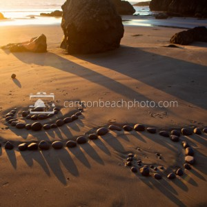 Rock Art in Golden Light