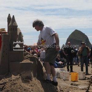 Sandcastle Day – Castle of Sand Sculpture