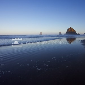 Dawn Light in Cannon Beach