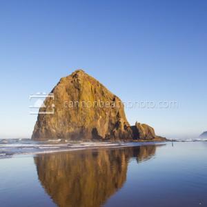 Full Morning Light on Haystack