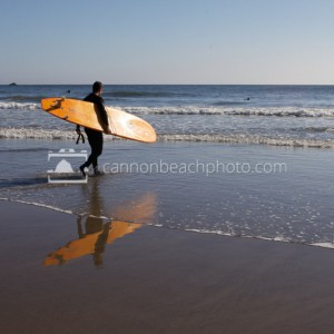 Surf's Up in Cannon Beach, Oregon