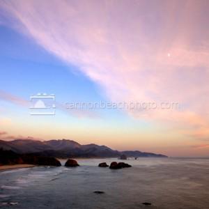 Ecola Point at Sunset, Oregon Coast