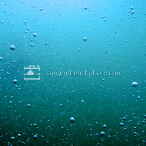 Ocean Photography, Blue Bubbles