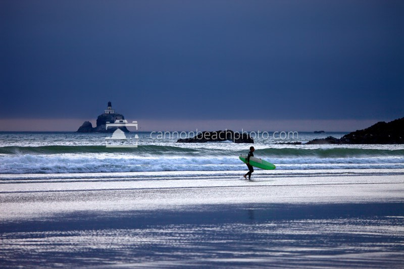 Oregon Coast Winter Surf
