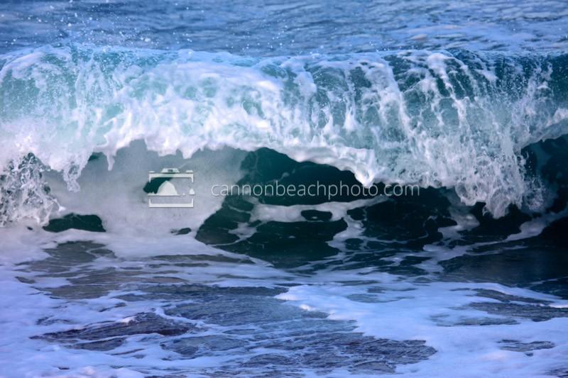 Cresting Blue Wave