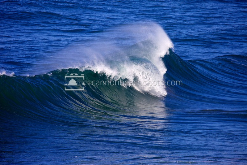 Huge Surf Curl - Oregon Coast Wave Photography