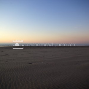 Sand and Sky, Evening Horizon