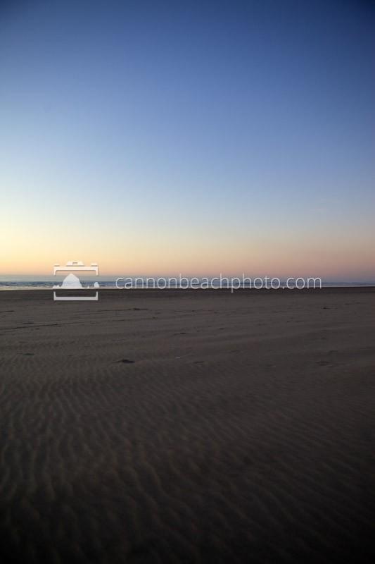Sand and Sky, Evening Horizon