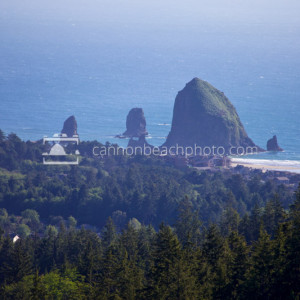 Haystack Rock from a South Distance