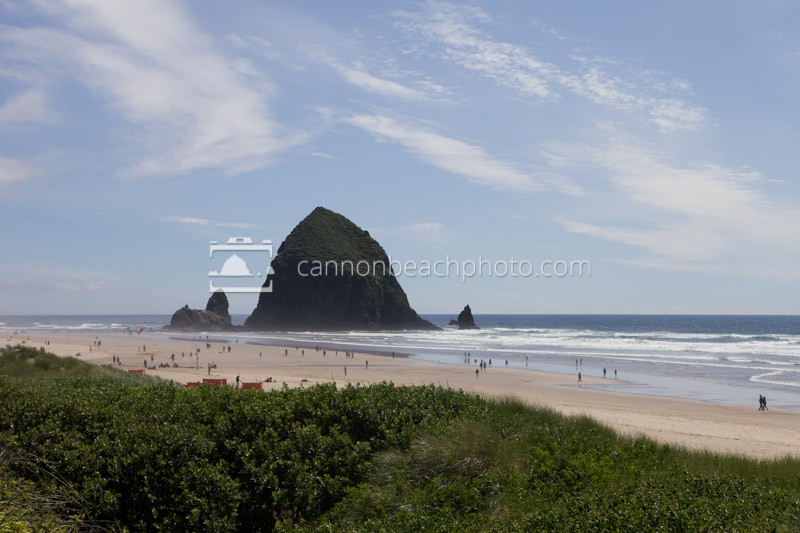 Sunny Beach Images, Cannon Beach, Oregon
