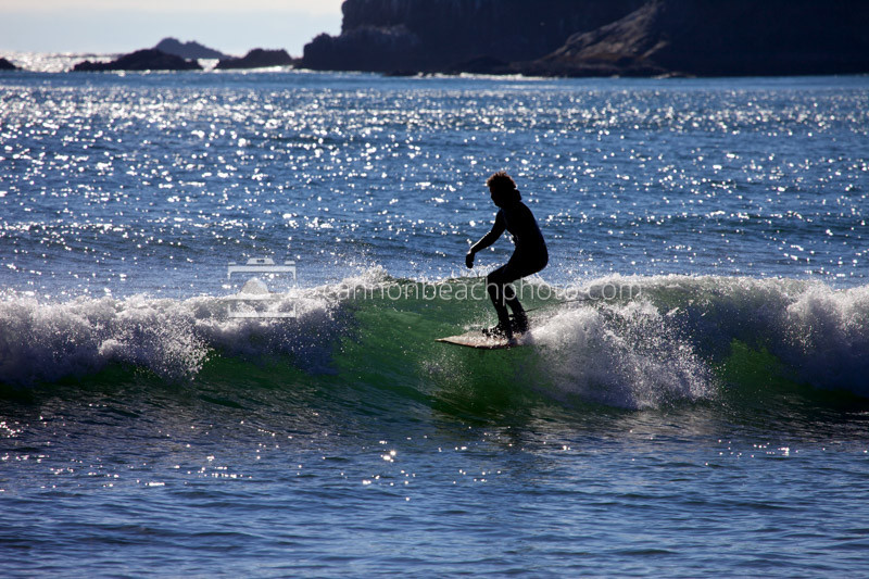 Surfing the Waves, Oregon Coast