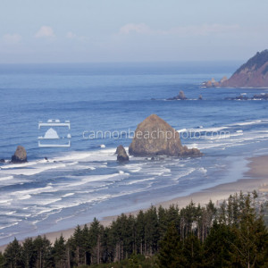 Cannon Beach Looking North