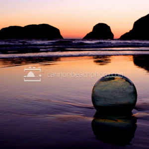 Glass Ball Washed Ashore, Oregon Coast
