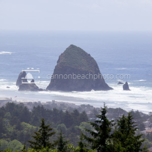 Cannon Beach in Vertical