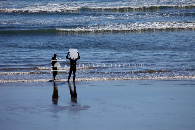 Surfer Stance, Oregon Coast