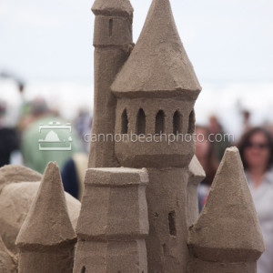 Sandcastle in Cannon Beach, Oregon