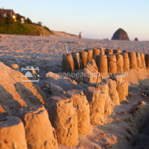 Golden Beach Sandcastles