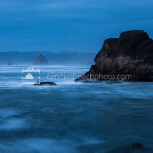 Oregon Coast Evening - Silver Point to Haystack Rock
