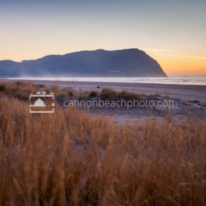 Seaside Beach with Tillamook Head, Oregon Coast