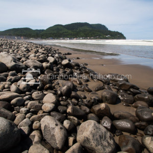 The Shoreline of the Cove in Seaside, Oregon
