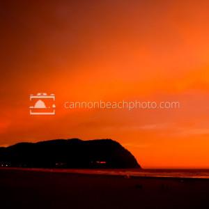 Tillamook Head at Sunset in Seaside, Oregon
