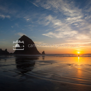 Amazing Cannon Beach Scene