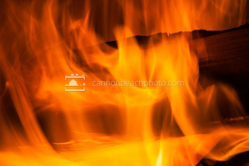 Beach Bonfire Closeup 1