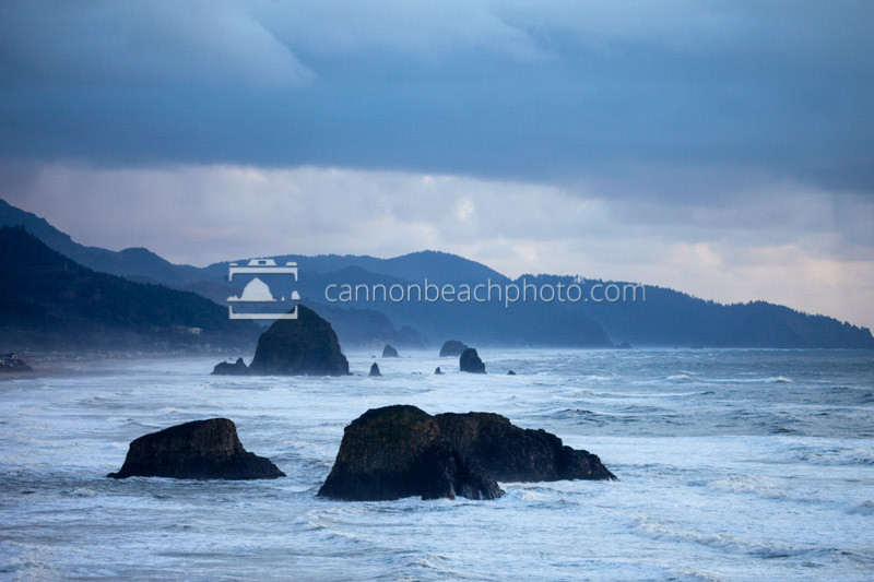 Blue Evening, Ecola State Park