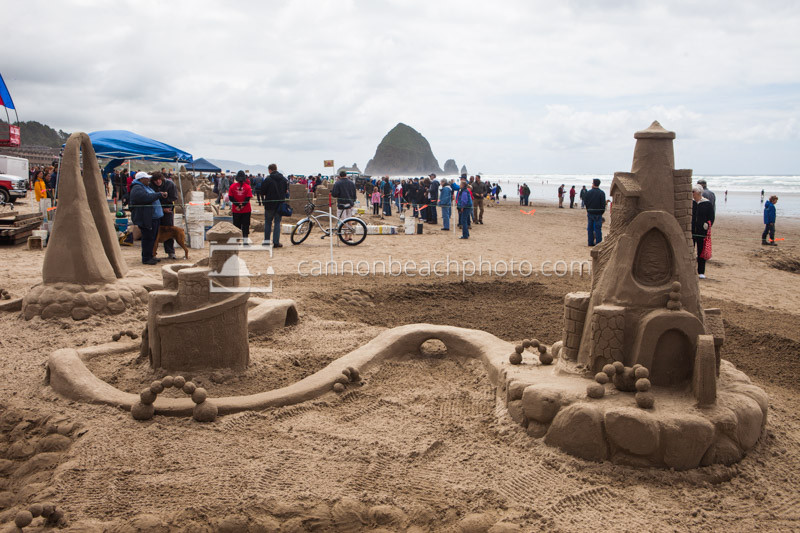 Cannon Beach Sandcastle Day Contest, Oregon Coast
