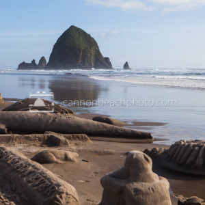 Cannon Beach Sandcastle Day Contest, Oregon Coast Pictures 1